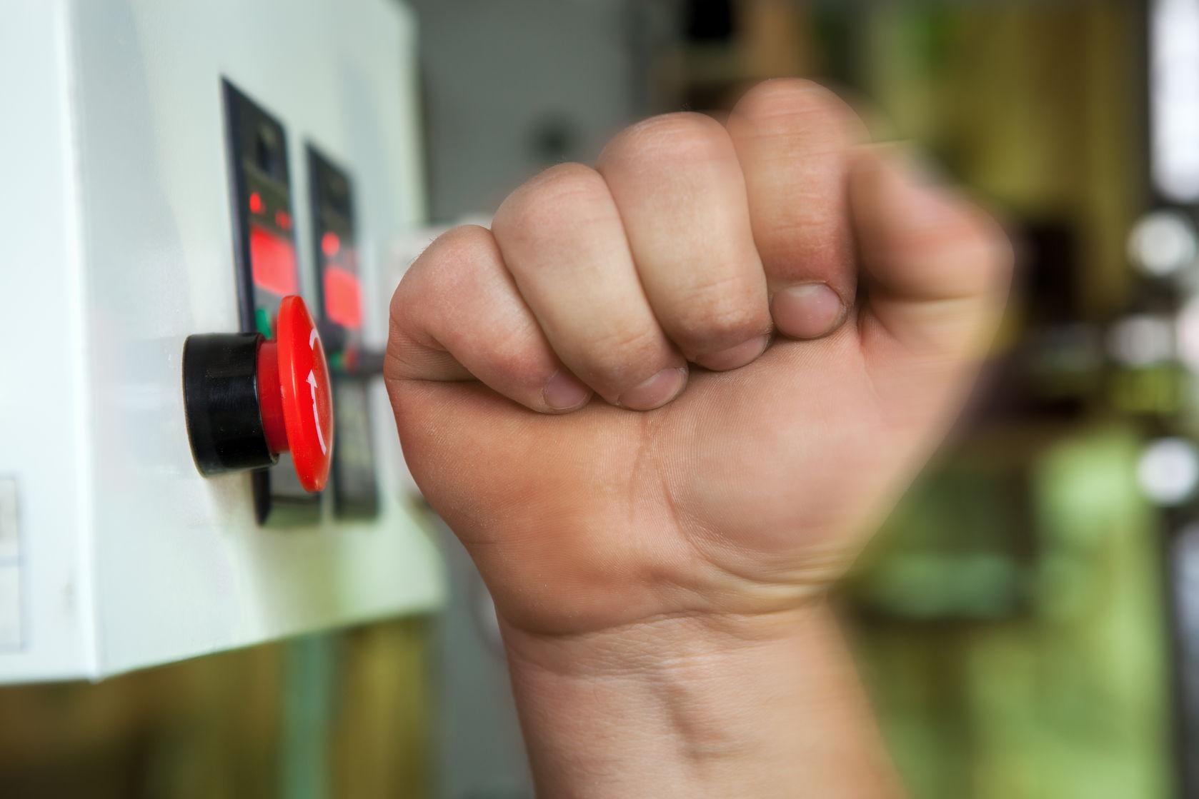 """""""Hebben jouw leerkrachten ook een rode stopknop?"""""""